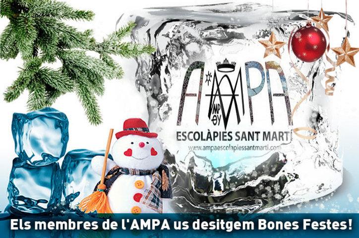 Bon Nadal 2016 AMPA Escolàpies Sant Martí