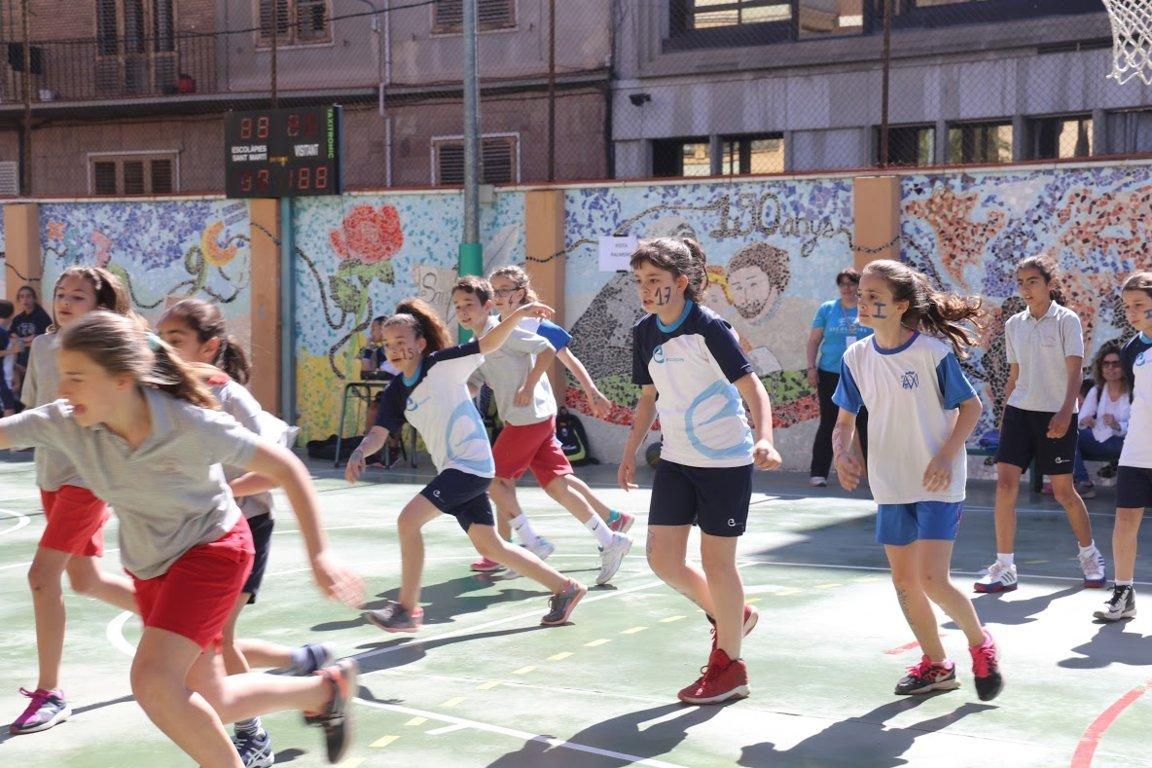 Escolapiades 2017 Festa del Bàsquet Escolàpies
