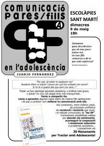 COMUNICACIÓ PARES FILLS EN L'ADOLESCÈNCIA.